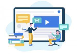 سیستم کلاس آنلاین شهر یادگیرنده